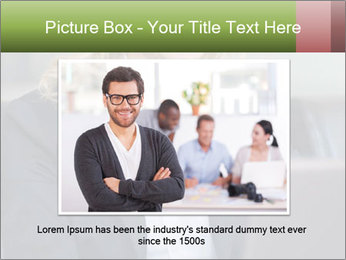 Blond Businesswoman PowerPoint Template - Slide 16