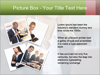 Blond Businesswoman PowerPoint Template - Slide 23