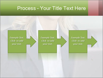 Blond Businesswoman PowerPoint Template - Slide 88