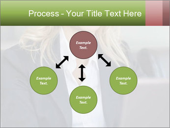 Blond Businesswoman PowerPoint Templates - Slide 91