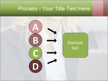 Blond Businesswoman PowerPoint Template - Slide 94