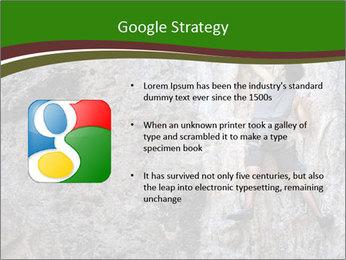Hiker On Rock PowerPoint Templates - Slide 10