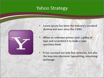 Hiker On Rock PowerPoint Templates - Slide 11