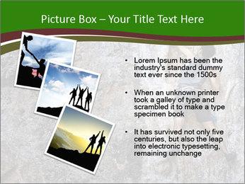 Hiker On Rock PowerPoint Templates - Slide 17