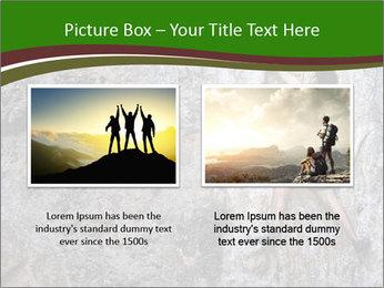 Hiker On Rock PowerPoint Templates - Slide 18