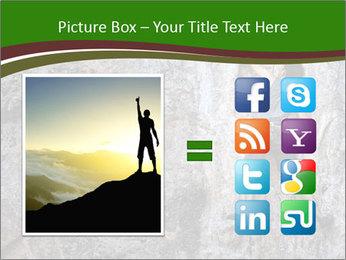 Hiker On Rock PowerPoint Templates - Slide 21