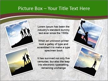 Hiker On Rock PowerPoint Templates - Slide 24