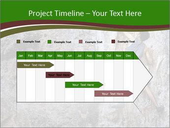 Hiker On Rock PowerPoint Templates - Slide 25