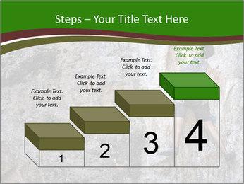 Hiker On Rock PowerPoint Templates - Slide 64