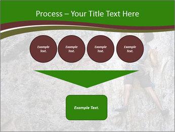 Hiker On Rock PowerPoint Templates - Slide 93