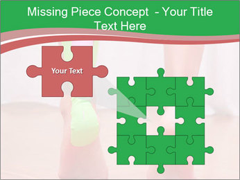 Leg Bandage PowerPoint Template - Slide 45