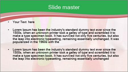 Leg Bandage PowerPoint Template - Slide 2