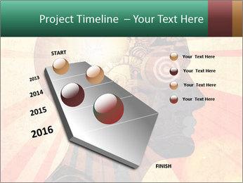Enlighten Head PowerPoint Template - Slide 26
