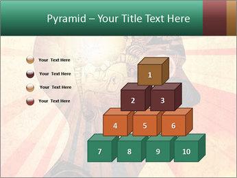Enlighten Head PowerPoint Template - Slide 31