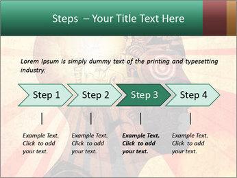 Enlighten Head PowerPoint Template - Slide 4