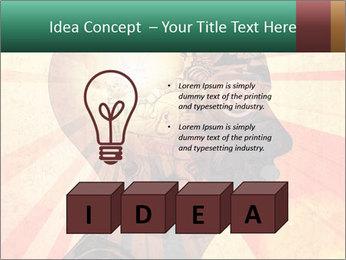 Enlighten Head PowerPoint Template - Slide 80