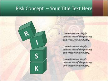 Enlighten Head PowerPoint Template - Slide 81