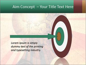 Enlighten Head PowerPoint Template - Slide 83