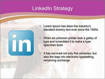 Woman Kisses Piggy Bank PowerPoint Template - Slide 12
