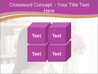 Woman Kisses Piggy Bank PowerPoint Template - Slide 39