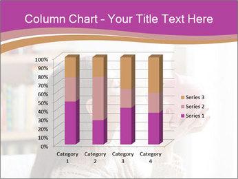 Woman Kisses Piggy Bank PowerPoint Template - Slide 50