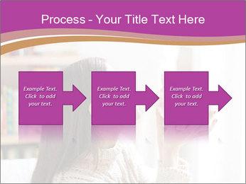 Woman Kisses Piggy Bank PowerPoint Template - Slide 88