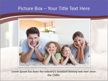 Parents With Daughter PowerPoint Template - Slide 15