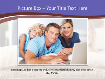 Parents With Daughter PowerPoint Template - Slide 16