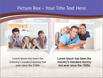 Parents With Daughter PowerPoint Template - Slide 18