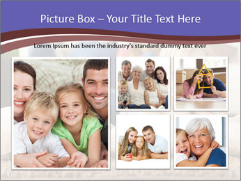 Parents With Daughter PowerPoint Template - Slide 19