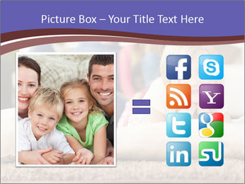 Parents With Daughter PowerPoint Template - Slide 21
