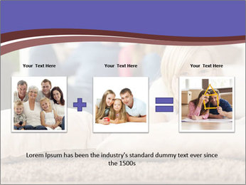 Parents With Daughter PowerPoint Template - Slide 22