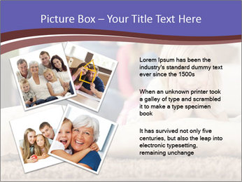 Parents With Daughter PowerPoint Template - Slide 23