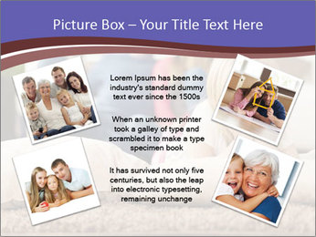 Parents With Daughter PowerPoint Template - Slide 24