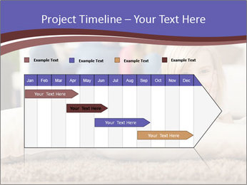 Parents With Daughter PowerPoint Template - Slide 25