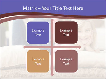 Parents With Daughter PowerPoint Templates - Slide 37