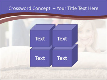 Parents With Daughter PowerPoint Template - Slide 39