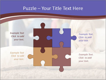 Parents With Daughter PowerPoint Templates - Slide 43