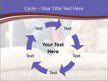 Parents With Daughter PowerPoint Templates - Slide 62