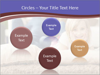 Parents With Daughter PowerPoint Template - Slide 77