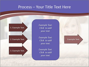 Parents With Daughter PowerPoint Template - Slide 85