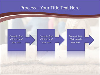 Parents With Daughter PowerPoint Template - Slide 88