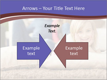 Parents With Daughter PowerPoint Template - Slide 90