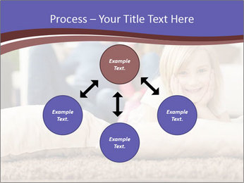 Parents With Daughter PowerPoint Template - Slide 91