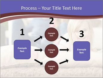 Parents With Daughter PowerPoint Template - Slide 92