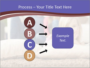 Parents With Daughter PowerPoint Template - Slide 94
