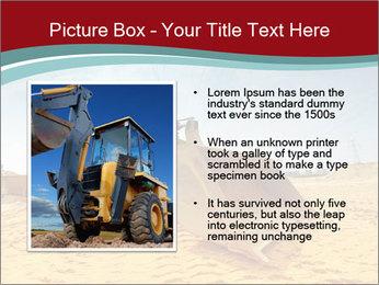 Huge Excavator PowerPoint Templates - Slide 13