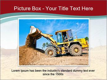 Huge Excavator PowerPoint Templates - Slide 15
