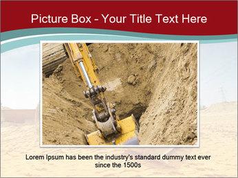 Huge Excavator PowerPoint Templates - Slide 16