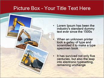 Huge Excavator PowerPoint Templates - Slide 17